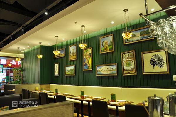 深圳圣多斯餐厅设计实景(南山百纳店)