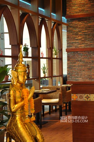 深圳泰子妃东南亚餐厅设计 太古城店