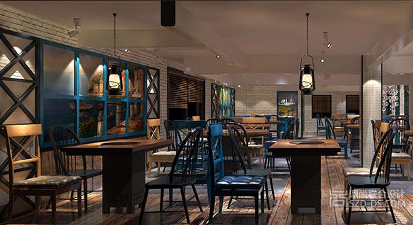 深圳渔码头主题餐厅设计(福星路店)